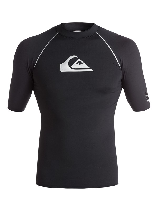 0 All Time Bonded - Short Sleeve Rash Vest  EQYWR03009 Quiksilver