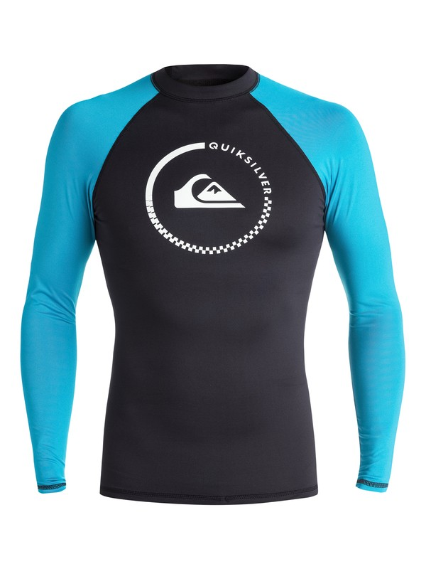 0 Lock Up - Long Sleeve Rash Vest  EQYWR03012 Quiksilver