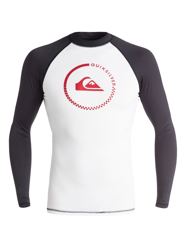 0 Lock Up - Surf tee Blanc EQYWR03012 Quiksilver