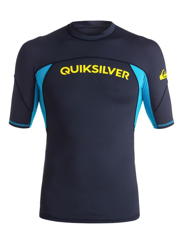 0 Performer - Camiseta de surf para Hombre Azul EQYWR03014 Quiksilver