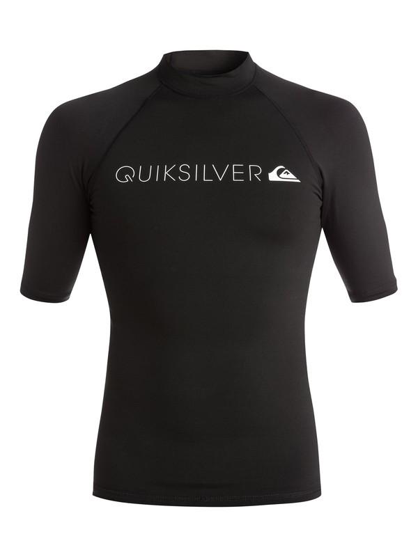 0 Heater - Rash vest a maniche corte Black EQYWR03026 Quiksilver