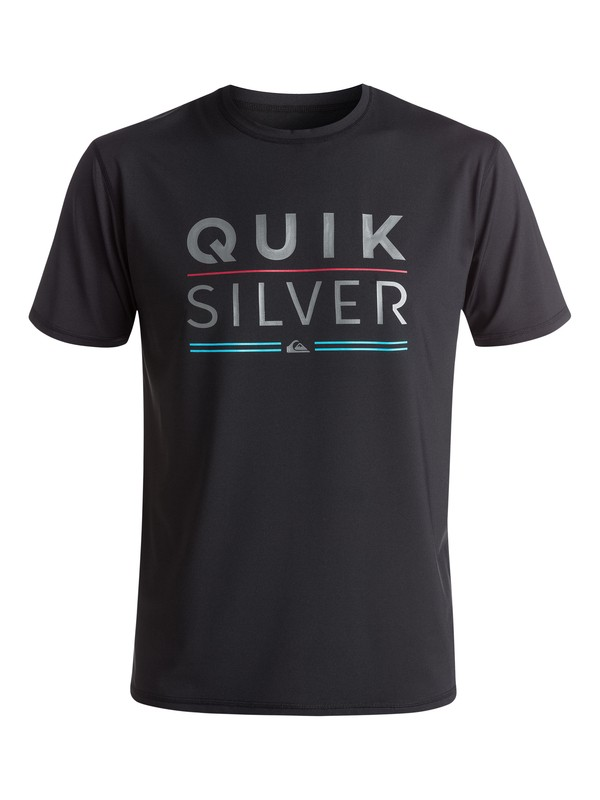 0 Fully Stacked Rashguard Black EQYWR03029 Quiksilver