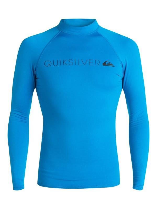 0 Heater - Rash Vest met lange mouwen Blue EQYWR03031 Quiksilver