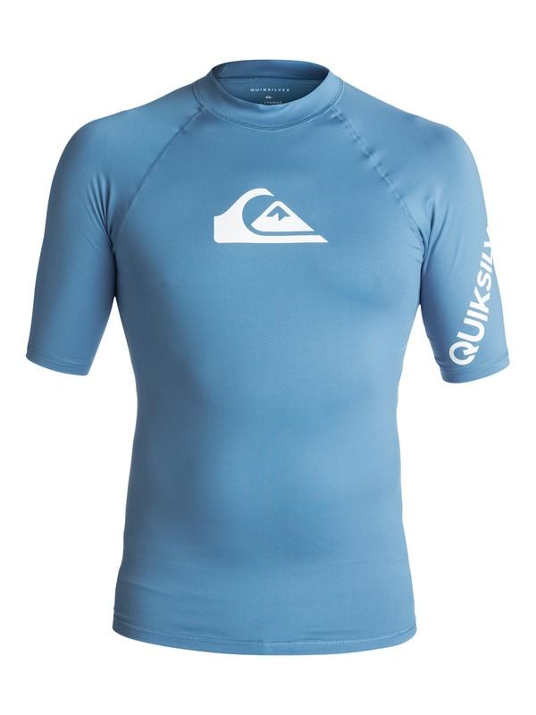 0 All Time - Lycra manches courtes UPF50 pour Homme Bleu EQYWR03033 Quiksilver