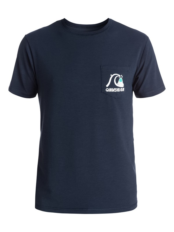 0 Bubble - Surf tee  EQYWR03046 Quiksilver