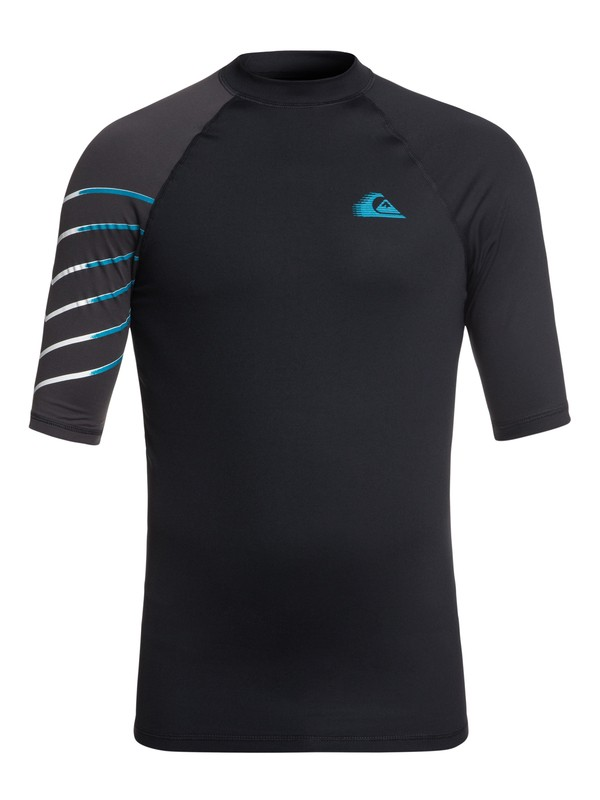 0 Active Short Sleeve UPF 50 Rash guard Black EQYWR03112 Quiksilver