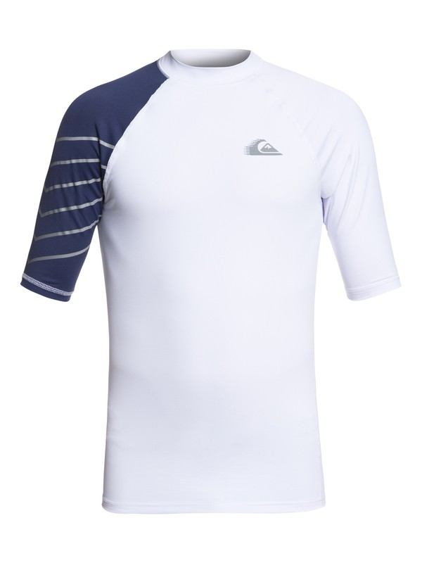 0 Active Short Sleeve UPF 50 Rash guard White EQYWR03112 Quiksilver