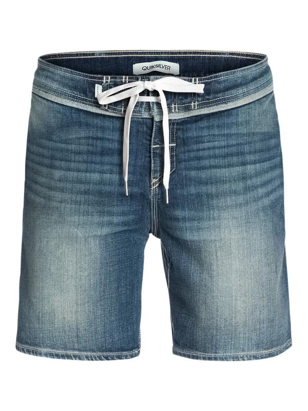 "0 Street Trunk Denim, 17"" Shorts  EQYWS03009 Quiksilver"