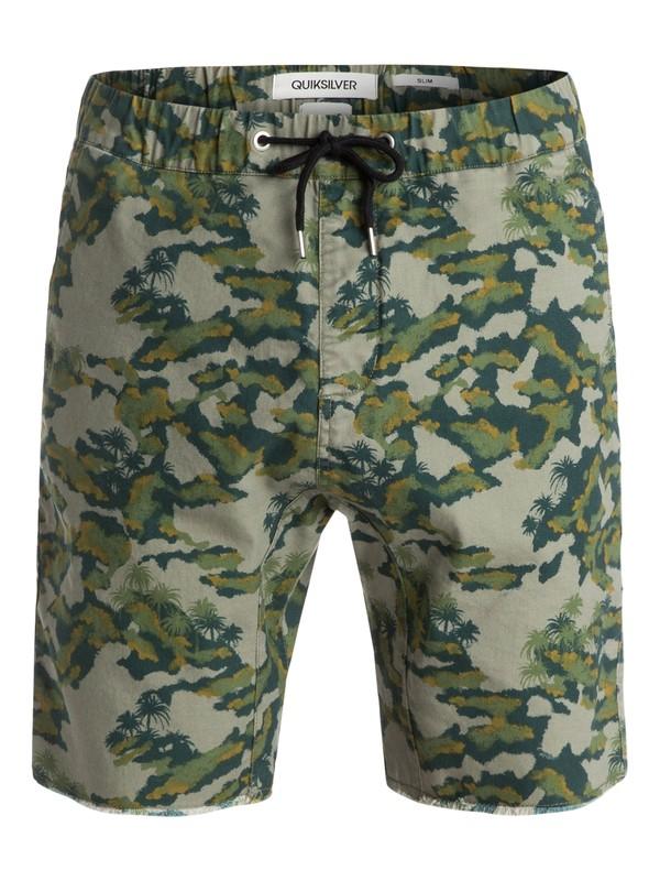 0 Stanmore Palmbeach - Pantalon chino imprimé  EQYWS03093 Quiksilver