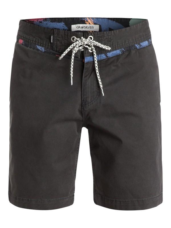 "0 Street Trunk Warpaint Yoke 18"" Shorts  EQYWS03116 Quiksilver"