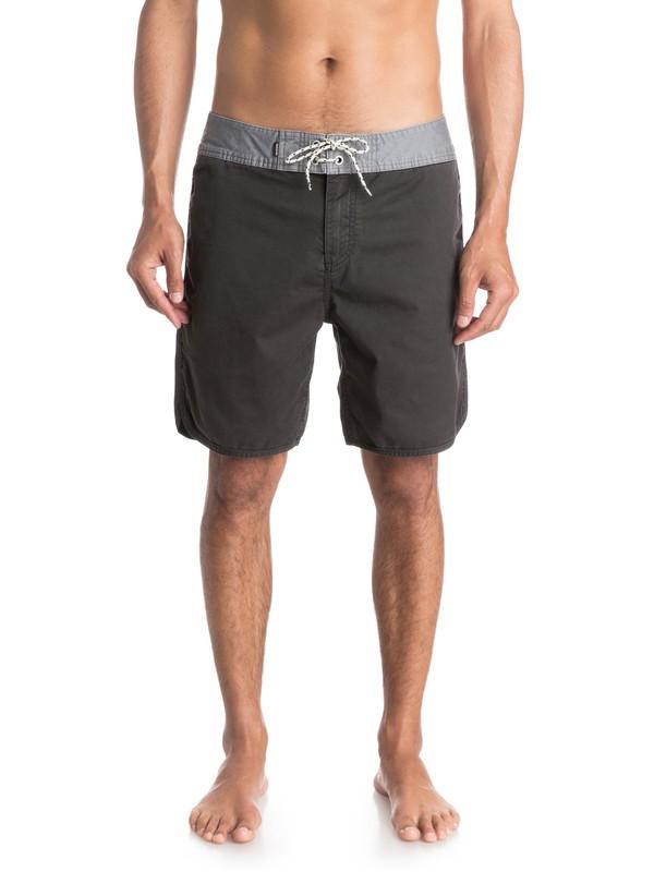 "0 Street Trunk Scallop 18"" Shorts  EQYWS03132 Quiksilver"