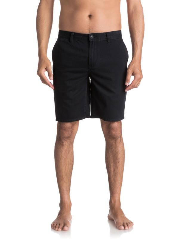 0 Everyday Chino Shorts Black EQYWS03252 Quiksilver