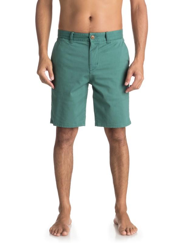 0 Krandy St - Chino Shorts for Men Green EQYWS03324 Quiksilver