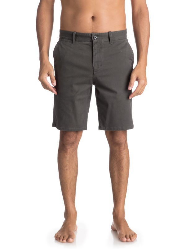 0 Krandy St - Chino Shorts for Men Black EQYWS03324 Quiksilver