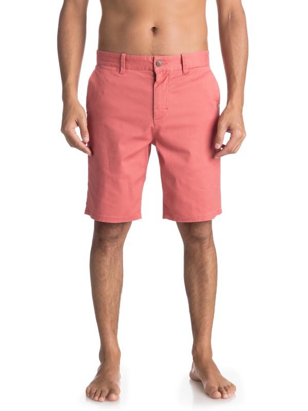 0 Krandy St - Chino Shorts für Männer Rosa EQYWS03324 Quiksilver