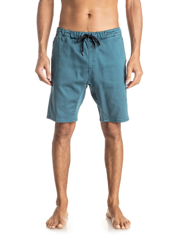 "0 Fonic 19"" - Pantalon de jogging en sergé Bleu EQYWS03337 Quiksilver"
