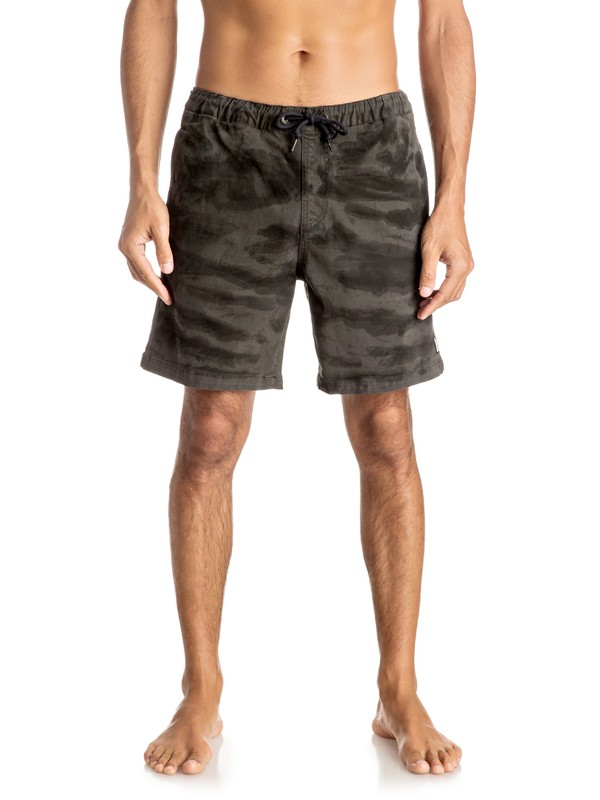 "0 Battered Tie Dye 17"" - Shorts  EQYWS03356 Quiksilver"