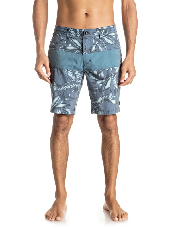 "0 The Panel Amphibian 19"" Shorts  EQYWS03365 Quiksilver"