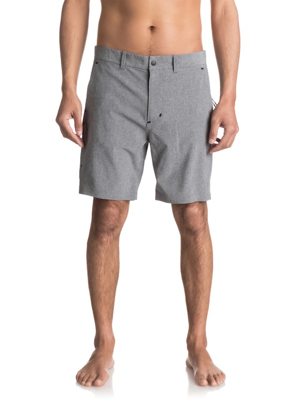 0 Amahai - Short technique Gris EQYWS03426 Quiksilver