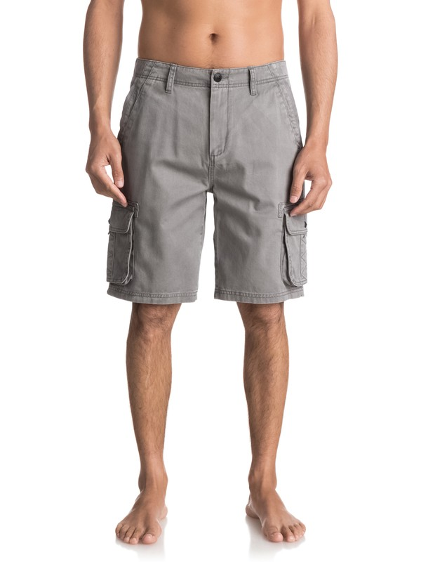 0 Everyday Deluxe Cargo Shorts Black EQYWS03454 Quiksilver