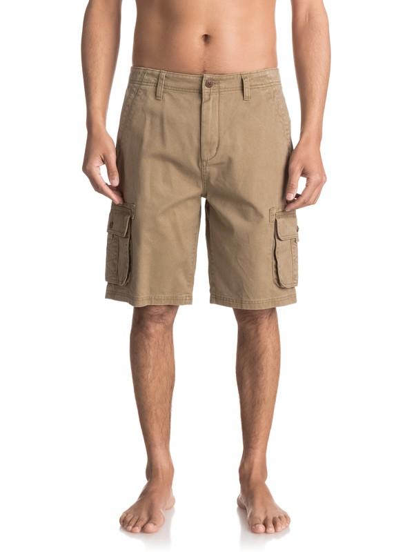 0 Everyday Deluxe Cargo Shorts Beige EQYWS03454 Quiksilver