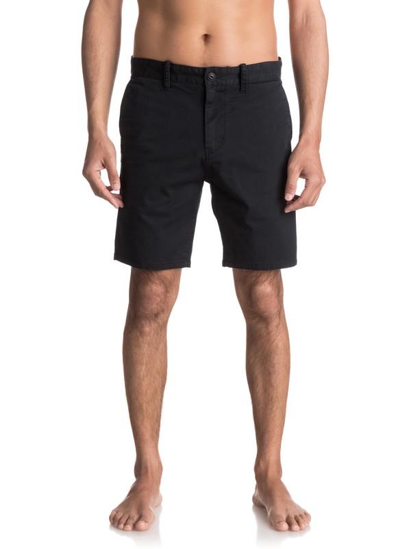 0 Spratt Chino Shorts Black EQYWS03460 Quiksilver
