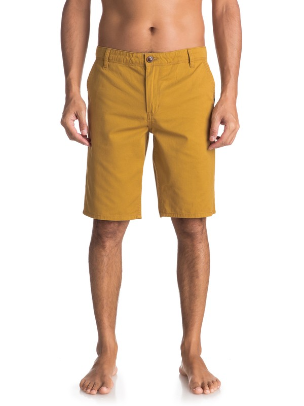 0 Everyday - Short Chino para Hombre Marron EQYWS03468 Quiksilver