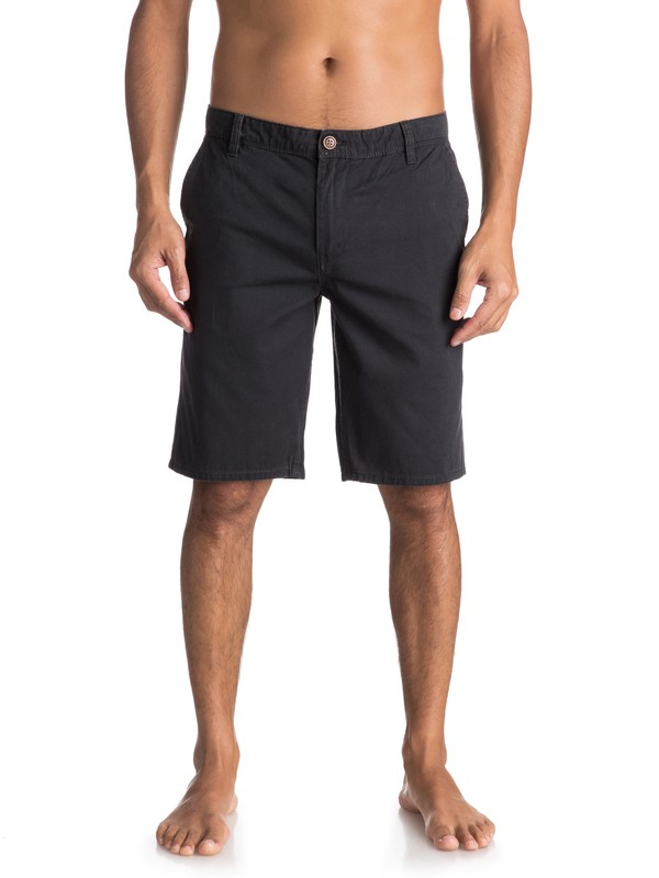 0 Everyday - Short chino pour Homme Noir EQYWS03468 Quiksilver