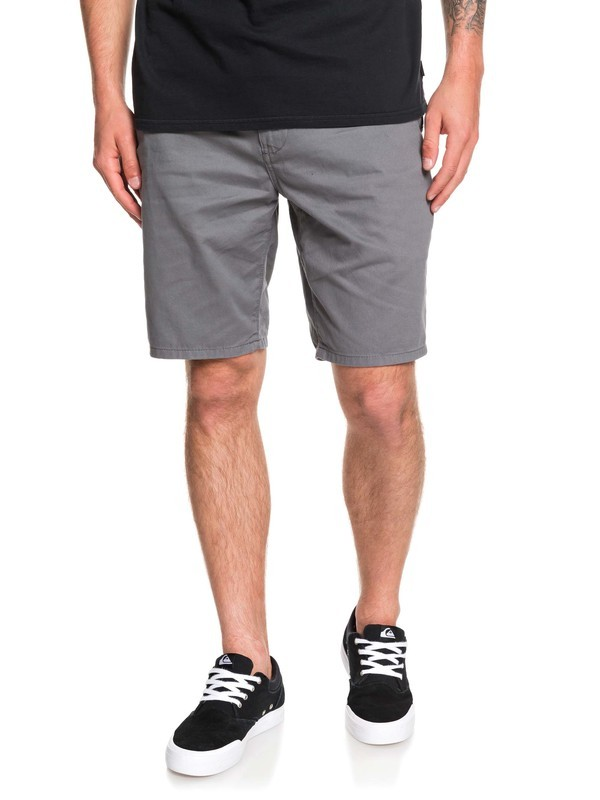 0 Everyday Chino Shorts Black EQYWS03468 Quiksilver