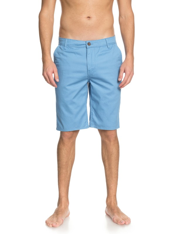 0 Everyday Chino Shorts Blue EQYWS03468 Quiksilver