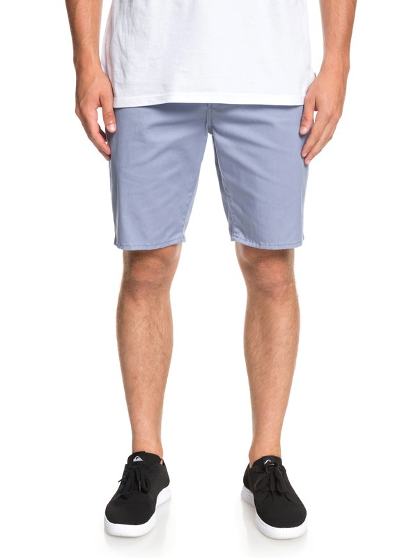 0 New Union Stretch - Chino Shorts Blue EQYWS03469 Quiksilver