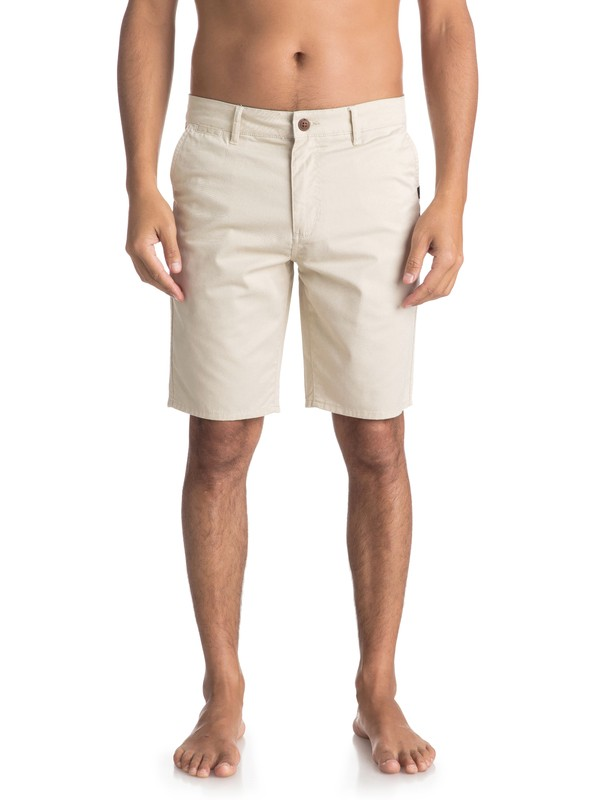 "0 Shorts tipo Chino New Everyday Union 21"" Beige EQYWS03469 Quiksilver"
