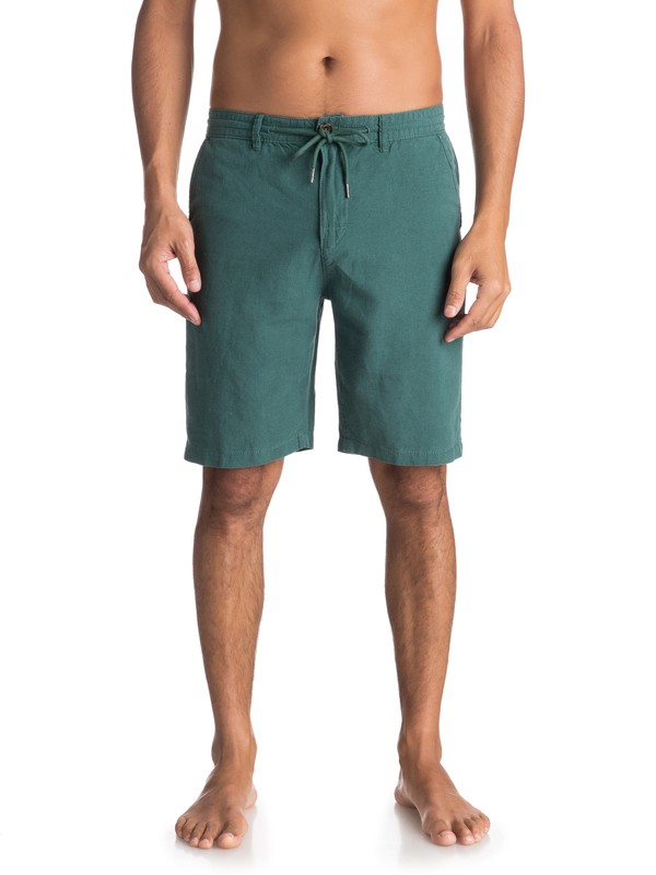 0 Wislab Chino Shorts Green EQYWS03478 Quiksilver