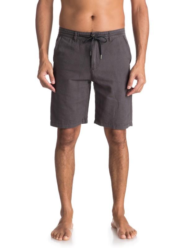 0 Wislab - Chino Shorts for Men Black EQYWS03478 Quiksilver