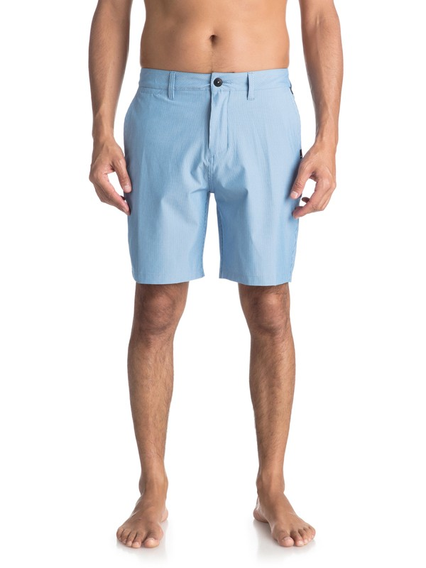 """0 Union Pinstripe 19"""" - Boardshort amphibian pour Homme Bleu EQYWS03490 Quiksilver"""