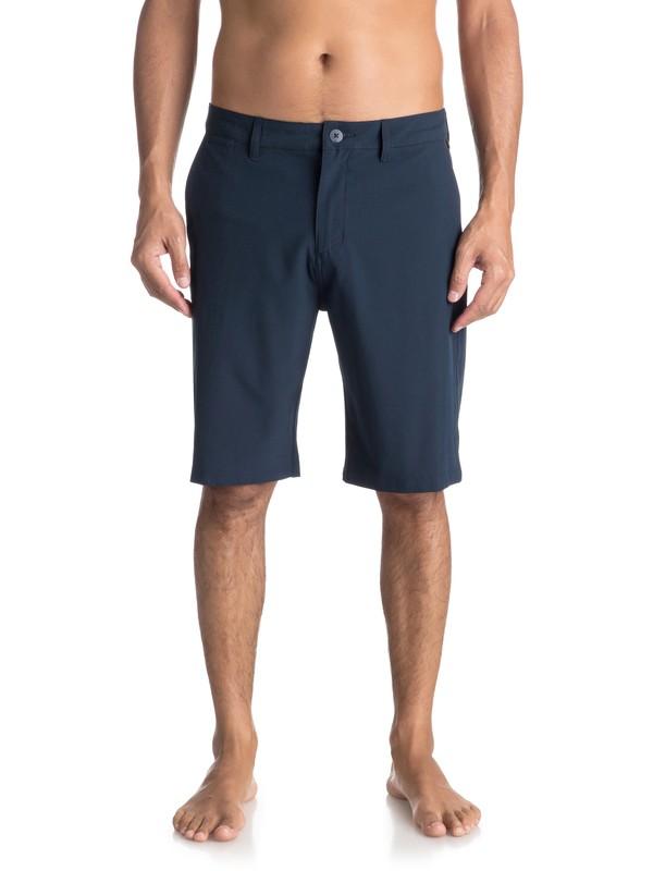 "0 Men  Union de 21"" Shorts Amphibian Azul EQYWS03491 Quiksilver"