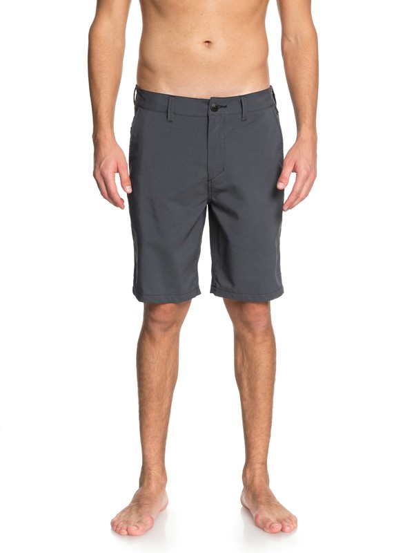 "0 Transit Twill Amphibian 20"" - Amphibian Shorts for Men Black EQYWS03494 Quiksilver"
