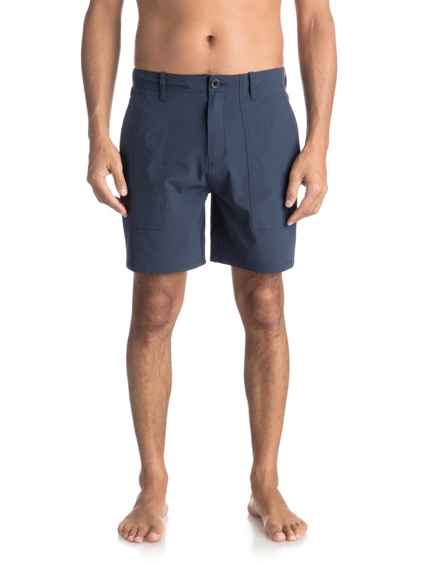 "0 Tactics 18"" - Amphibian Board Shorts for Men Blue EQYWS03495 Quiksilver"