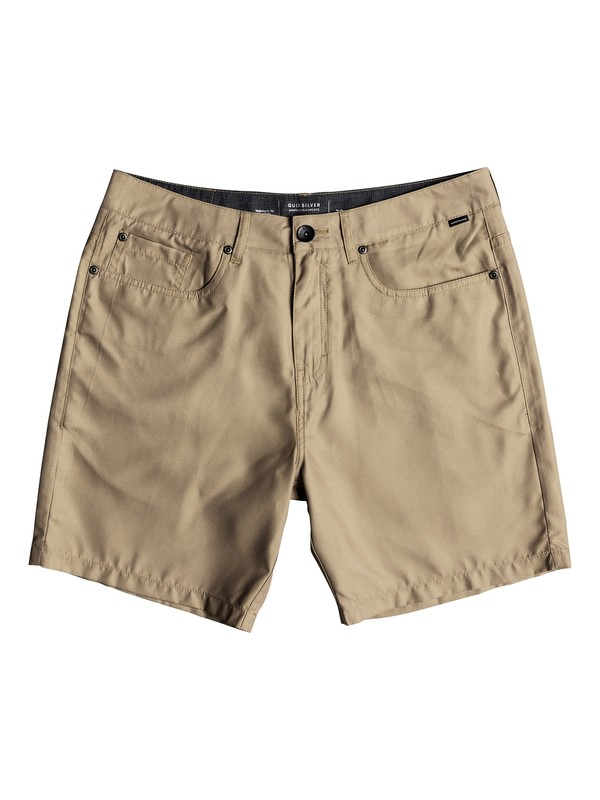 "0 Nelson 18"" - Amphibian Shorts for Men Brown EQYWS03500 Quiksilver"