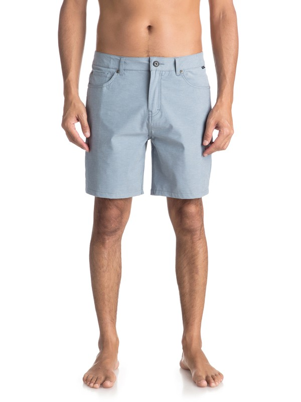"0 Nelson 18"" - Amphibian Shorts for Men Blue EQYWS03500 Quiksilver"