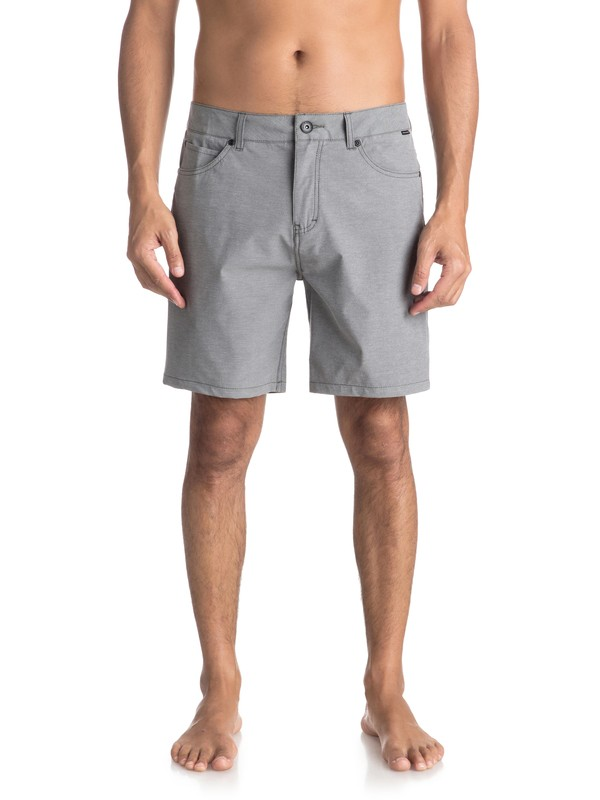 "0 Nelson 18"" - Amphibian Shorts for Men Black EQYWS03500 Quiksilver"