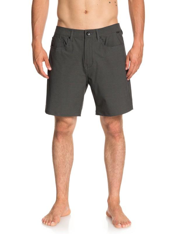 "0 Nelson 18"" - Amphibian Shorts for Men Black EQYWS03500 Quiksilver"