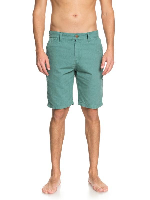 0 Krandy Oxford Shorts Blue EQYWS03502 Quiksilver