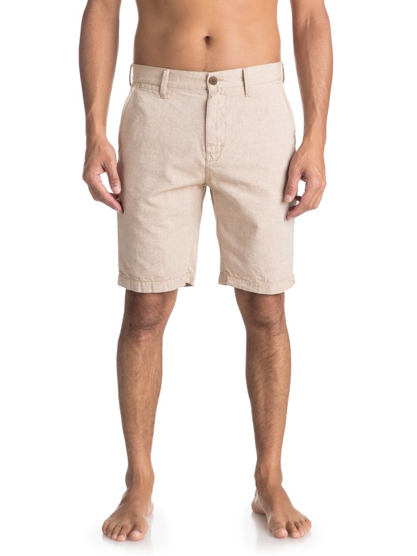 0 Krandy Chino Shorts Brown EQYWS03502 Quiksilver