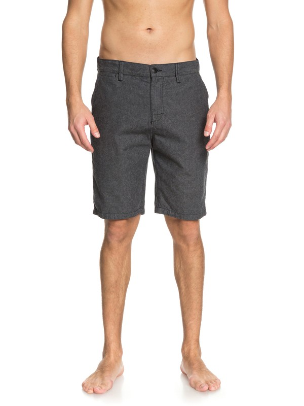 0 Krandy Oxford Shorts Black EQYWS03502 Quiksilver