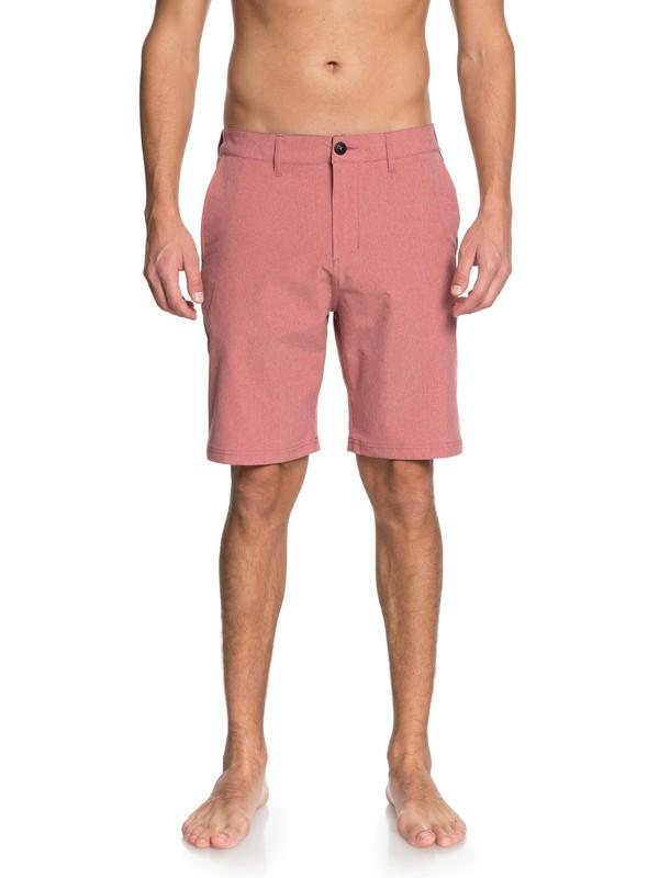 "0 Navigate 20"" Amphibian Boardshorts Pink EQYWS03509 Quiksilver"