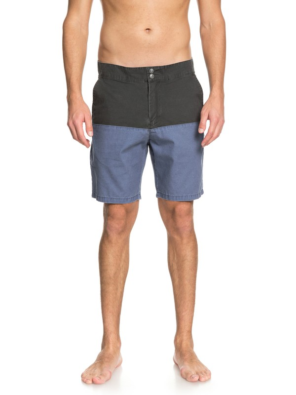 "0 Mad Wax Block 19"" Shorts Black EQYWS03521 Quiksilver"
