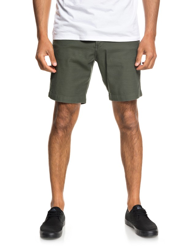 0 Mitake Fatigue Shorts Brown EQYWS03526 Quiksilver