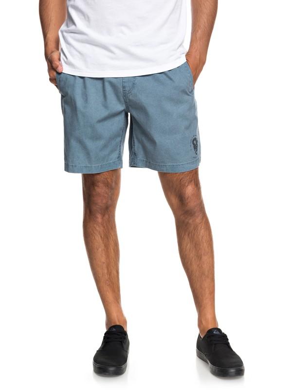 0 Men's Miho Beach Beach Shorts Blue EQYWS03527 Quiksilver