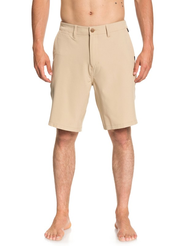 "0 Union 20"" Amphibian Shorts Brown EQYWS03537 Quiksilver"